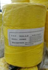850/3 Ply Yellow Poly Twine 5000' per tube