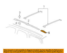 GM OEM Roof Rack Rail Luggage Carrier-Rear Support Right 25783487