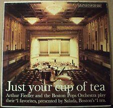 ARTHUR FIEDLER Just Your Cup Of Tea LP OOP mono easy-pop