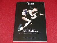 COLL.J.LE BOURHIS DANSE BALLET / PROGRAMME OPERA PARIS / JIRI KYLIAN 2001