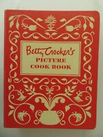 First Edition 1950 Betty Crocker's Picture Hard Bound Cook Book