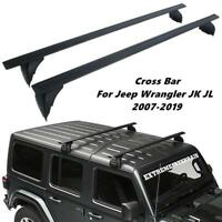Adjustable Roof Rack Cross Bar Luggage Carrier for Jeep Wrangler JK JL 2007-2019