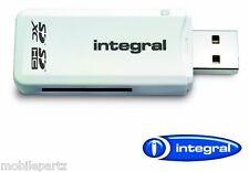 Integral Universal Secure Digital Sd A Usb 2.0 única ranura de tarjeta de memoria Lector