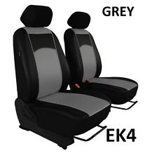 VOLKSWAGEN CADDY 2004-2015 ECO LEATHER FRONT SEAT COVERS MADE TO MEASURE FOR CAR