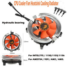 CPU Cooler Fan Radiator Heatsink 110mm Hydraulic Bearing for Intel 775 AMD754