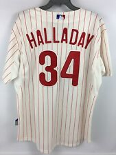 Nwt Authentic Roy Halladay Philadelphia Phillies Jersey - Majestic Cool Base 48