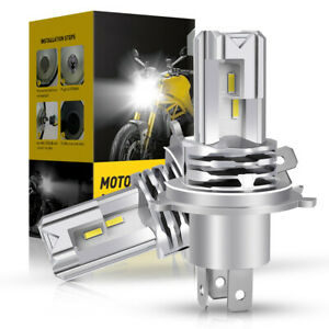 H4 9003 1700W 255000LM COB LED Headlight Globes Bulbs Kits High Low Beam 6000K