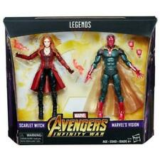 "Marvel Legends Series Avengers Infinity War 6"" Vision + Scarlet Witch"