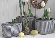 Ovale Markenlose Deko-Blumentöpfe & -Vasen im Landhaus-Stil
