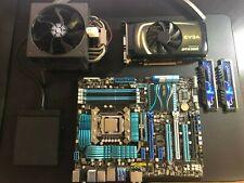 ASUS P8P67 Deluxe MB W/Intel i7 2600K 3.4ghz 16GB G.SKILL Ripjaws X + GTX 560