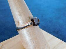 14kt Rose Gold CZ Ring Size 8 Stamped SW14K CZ