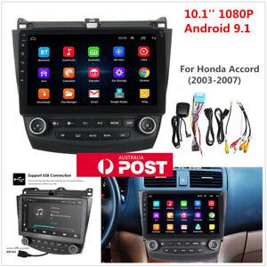 For 03-07 Honda Accord 10.1'' Android 9.1 Car Radio Stereo GPS Navigation Player