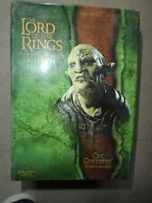 lord rings bust Orc Overseer sideshow weta boxed fellowship lotr