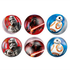 STAR WARS Force Awakens BOUNCE BALLS (6) ~ Birthday Party Supplies Favors Toys