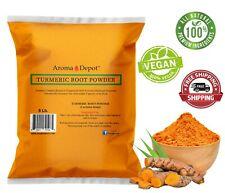 5lb Turmeric Root Powder 100% Raw (Curcuma longa) 5 Libras Tumeric Cúrcuma BULK