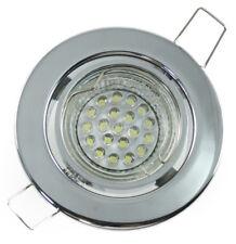 4 x LED Deckenleuchte Einbaustrahler Dekoleuchten Einbaulampe Set weiß 1,2W=15W