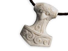 Fly Style Ketten-anhänger Knochen Mjölnir Thor's Hammer Amulett BPD007