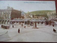1912 Postcard Baths & Crescent Hotel Buxton Derbyshire