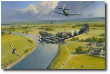Normandy Nemesis by Robert Taylor - Spitfire - WWII - Military Aviation Art