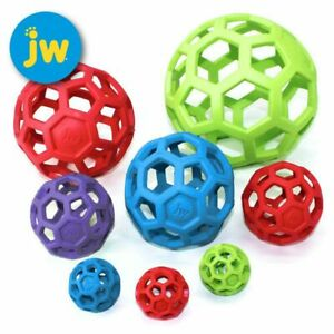 JW Hol-ee Roller Ball - Gitterball - Hundespiel Kauspielzeug Snackball Gummiball