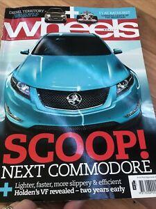 WHEELS Car magazine MAY 2011 VF X5 SLK SS RS3 G55 S350 IS350 S60 3 M5 CAYMAN