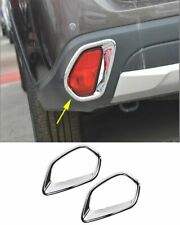 2*Rear Tail Fog Light Lamp Trim Cover For Mitsubishi Outlander 2016-2019 Chrome