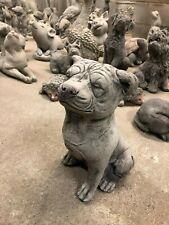 Stafordshire Bull Terrier,Staffy,Garden or home concrete stone statue sculpture