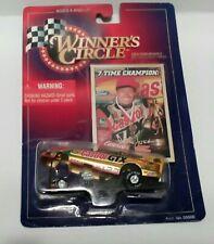 Winners Circle Lifetime Series John Force 7 Time Champion Castrol GTX Gold Car