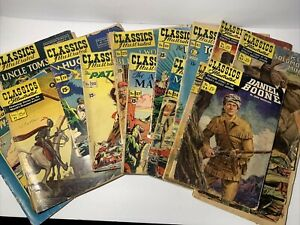 Original Classics Illustrated Story Books-Your Choice!  Daniel Boone,Huck Finn..