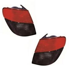 For Peugeot 406 Estate 1995-1999 Outer Wing Rear Tail Lights Lamps Pair OS NS
