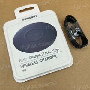 Genuine Samsung Galaxy Slim Wireless Pad Fast Charger For S8 S9 S10 S20 S21 Plus