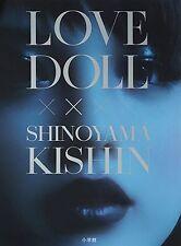 JAPANESE PHOTO BOOK,ART,KISHIN SHINOYAMA,LOVE DOLL,ENGLISH