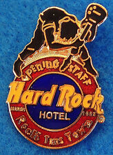 LAS VEGAS HOTEL STAFF OPENING *THE WHO* FAMOUS GUITAR SMASH Hard Rock Cafe PIN