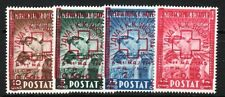 ALBANIA Sc B24-27 NH RED CROSS SET OF 1945
