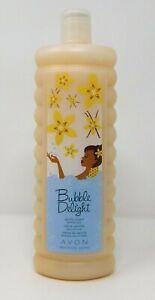 Avon Bubble Delight Bubble Bath Vanilla Cream 24 oz 700ml New & Sealed