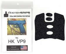 Tractiongrips brand grip rubber overlay decal for H&K VP9 pistols / HK VP 9