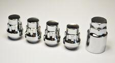 M12 x 1.5, 21mm Hex Alloy Wheel Locking Nuts for Hyundai cars. Set of lockers