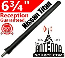 Reception Guaranteed 2004-2018 AntennaMastsRus The Original 6 3//4 INCH is Compatible with Nissan Titan German Engineered - SHORT Rubber Antenna Internal Copper Coil