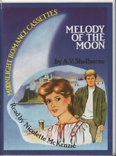 MELODY OF THE MOON by A. V. Shelburne (Moonlight Romance)  2 Cassette Audiobook