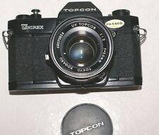 Superbe collector,TOPCON Unirex,NOIR, Topcor 50mm /2 neuf, sac T.P.+instructions