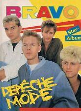 BRAVO STAR ALBUM 80's Vintage GERMAN MUSIC MAGAZINE cover DEPECHE MODE #2