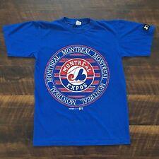 Montreal Expos Vintage Starter MLB Baseball T-Shirt S 1994