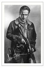 ANDREW LINCOLN THE WALKING DEAD SEASON 6 SIGNED 6x4 PHOTO PRINT RICK GRIMES