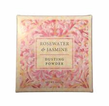 Greenwich Bay ROSEWATER & JASMINE Dusting Powder, After-Bath Body Powder, 4 oz.