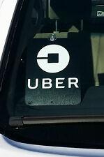 """Uber Trade Dress, Placard 5.5""""x7.5"""" car display sign"""