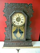 "Antique Gilbert ""Concord No.3"" Shelf Clock - used"