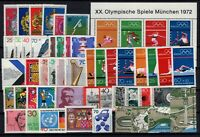 P135769/ WEST GERMANY – YEARS 1972 - 1973 MINT MNH MODERN LOT – CV 100 $