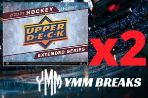 2020-21 Extended Series Hobby 2-Box BREAK - TEAM RANDOM - 1 TEAM DOUBLED UP FREE