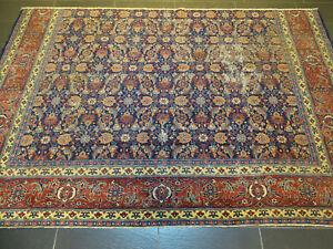 Alter Handgeknüpfter Perser Orientteppich Old TÄBRIZ Carpet Tapis Rug 300x200cm