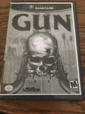 Gun (Nintendo GameCube, 2005) - Game Disc in Case